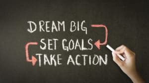 When you practice smart goal setting you are opening a door for change and transformation