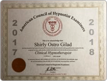 American Council of Hypnotist Examiners, Shirly Gilad, founder of Integrative Hypnotherapy Boca Raton